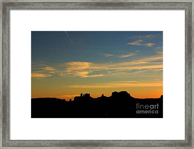 Mile Post 13 Framed Print by Beve Brown-Clark Photography