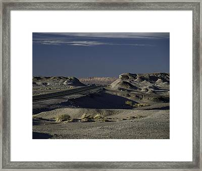 Mile Post 475 Framed Print
