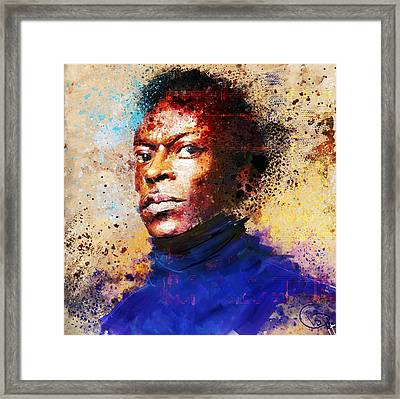 Miles Ahead Framed Print