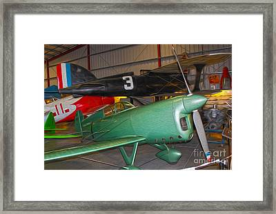 Miles Atwood - Special Model 1 Framed Print by Gregory Dyer