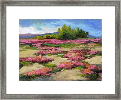 Miles Avenue Years Ago Framed Print by Diane McClary