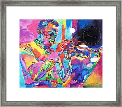Miles Davis Bebop Framed Print