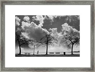 Miles High Framed Print by Diana Angstadt