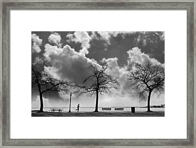 Miles High Framed Print
