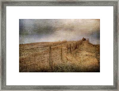 Miles Of Bliss Framed Print by Kathy Jennings