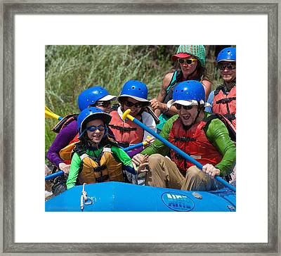 Miles Of Smiles Framed Print