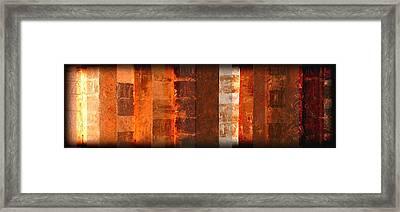 Milestones Framed Print
