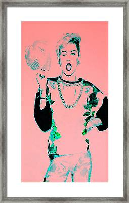 Miley 1 Framed Print by Brian Reaves