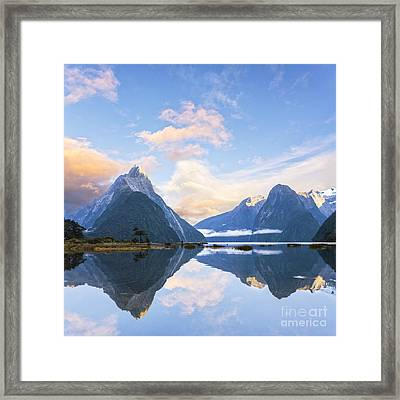Milford Sound New Zealand Framed Print