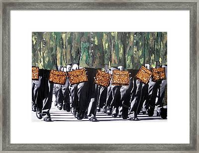 Framed Print featuring the photograph Military Attache by Lesley Fletcher