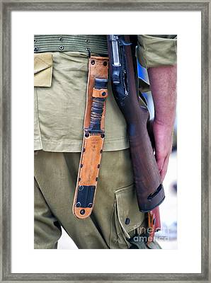 Military Small Arms 01 Ww II Framed Print by Thomas Woolworth