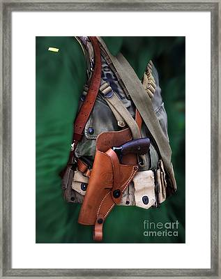 Military Small Arms 02 Ww II Framed Print by Thomas Woolworth