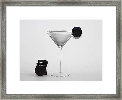 Milk And Cookies Framed Print by Bill Cannon