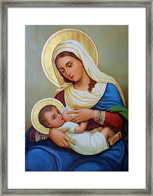 Milk Grotto Artwork Framed Print