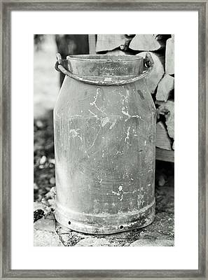 Milk Jug Framed Print by Falko Follert