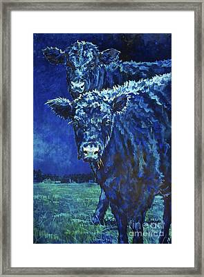 Milk Moon Framed Print by Patricia A Griffin