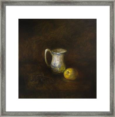 Milk Framed Print by Myrmann Vidir