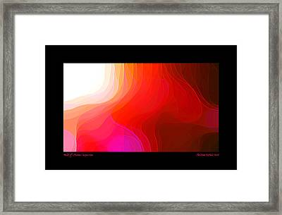 Milk Of Human Compassion Framed Print