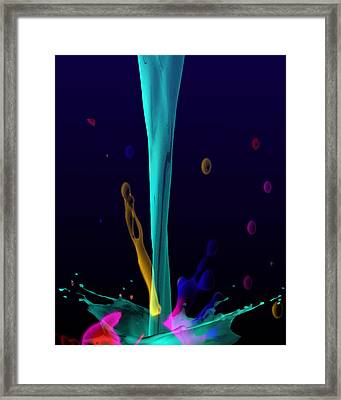 Milkolore Framed Print by Mark Ashkenazi