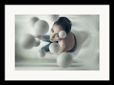 Juggling Photographs Framed Prints