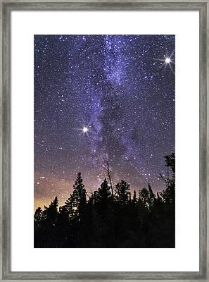 Milky Framed Print