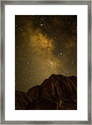 Milky Sky Framed Print by Mike Schmidt