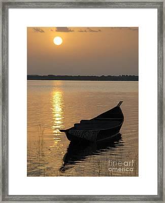 Milky Sunrise Framed Print