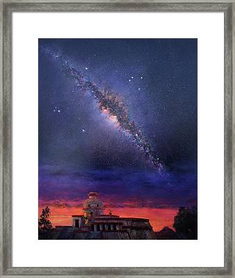 Milky Way 2012 Framed Print by Marie Green