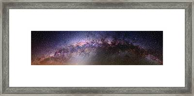 Milky Way And Galactic Centre Framed Print by Babak Tafreshi