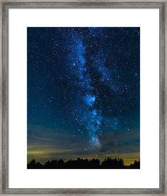 Milky Way Cherry Springs Framed Print