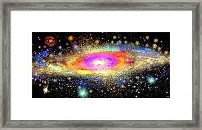 Milky Way Framed Print by Daniel Janda