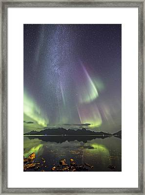 Milky Way Framed Print by Frank Olsen