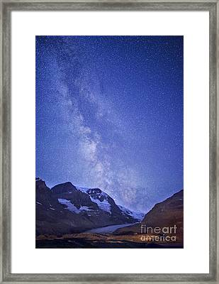 Milky Way In Jasper Framed Print