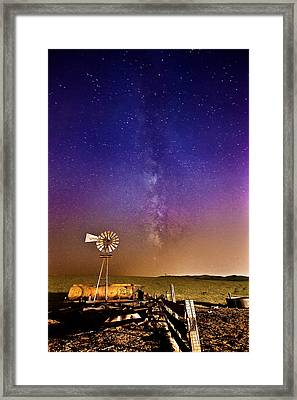Milky Way Framed Print