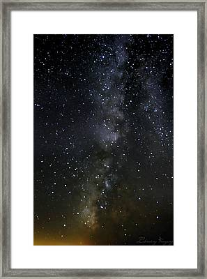 Milky Way Framed Print by Marlo Horne