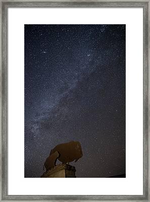 Milky Way  Framed Print by Melany Sarafis