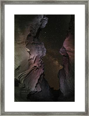 Milky Way Over The Persian Gulf Framed Print