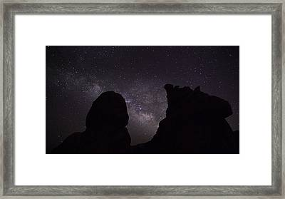 Milky Way Over The Seven Sisters 5  Framed Print