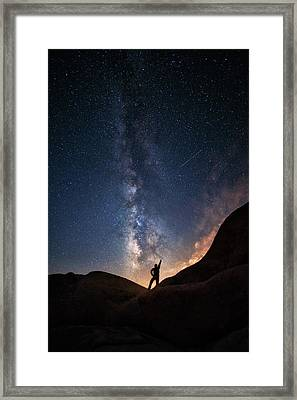 Milky Way Framed Print by Piriya Photography