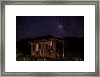 Milky Way Rising Framed Print by Bill Cantey