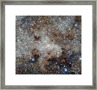 Milky Way, Sagittarius A* Framed Print by Science Source