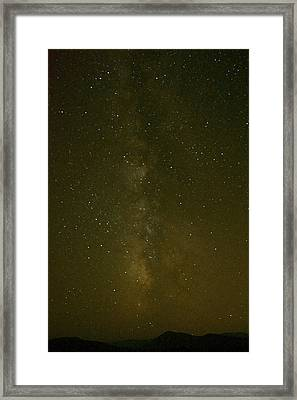 Milky Way September Framed Print