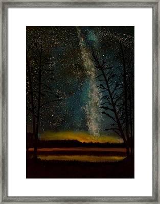 Milky Way Framed Print by Steve Hermann