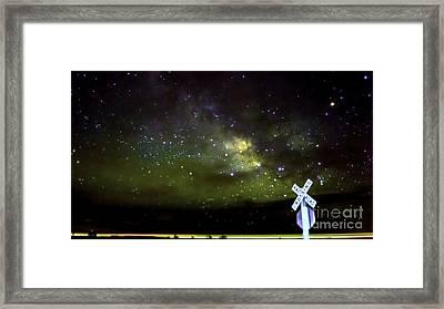 Milkyway  Crossing Blur Framed Print