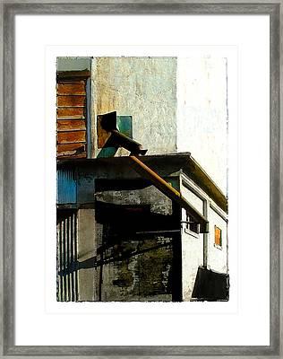 Mill 5 Framed Print by Brenda Leedy