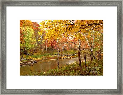 Framed Print featuring the photograph Mill Creek 1 by Jim McCain
