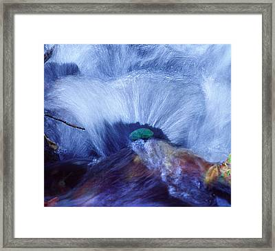 Mill Creek Detail Framed Print