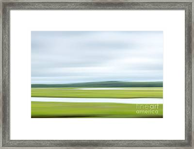 Mill Creek Marsh 2 Framed Print