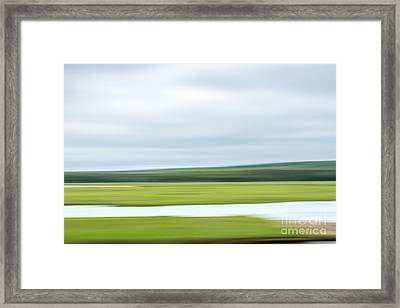Mill Creek Marsh 3 Framed Print by Susan Cole Kelly Impressions