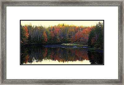 Mill Damm Framed Print by Jason Lees